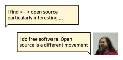 I don't do open source.